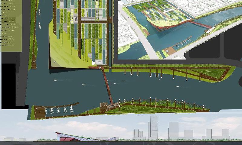 上海青浦新城西区概念性城市设计国际竞赛图片