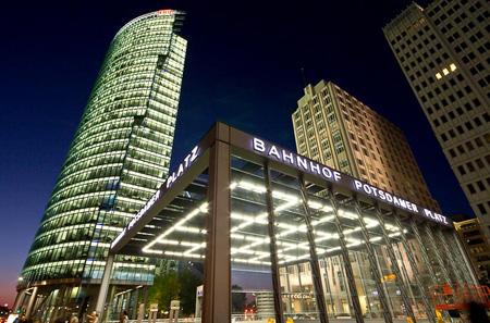 世界顶尖大师荟萃—柏林波茨坦广场图片