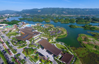 Dazu Longshui International Resort Hot Spring Water World Landscape Design